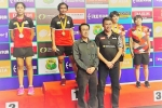 Tasnim clinches gold, silver for Tara at U-17 & U-15 Asia Junior Badminton Championships