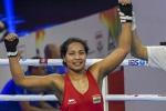 Kachari, Ankushita storm into quarterfinals of the Women's National Boxing Championship