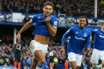 Everton 3-1 Chelsea: Calvert-Lewin at the double as Ferguson makes instant impact