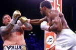 Joshua beats Ruiz Jr on points in Diriyah rematch to regain titles