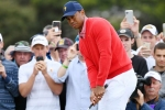 Presidents Cup 2019: Tiger flying USA flag as Internationals lead