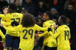 Bournemouth 1-2 Arsenal: Gunners set up Portsmouth 5th round FA Cup clash