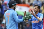 Dhoni is missed by Indian team - Chahal reveals no one sits on MSD's seat in bus
