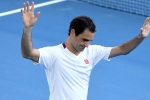 Australian Open 2020: I believe in miracles! Federer accepts he was 'incredibly lucky' to survive Sandgren scare