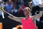 Australian Open 2020: Nadal shows 'caution' in opening win, Medvedev joins him in round two