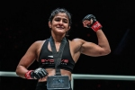 Ritu Phogat aims to continue winning streak in ONE Championship