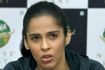 Looking forward to work hard for country, says badminton star Saina Nehwal after joining BJP