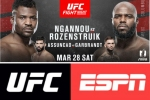 Heavyweight Knockout artists collide in UFC return to Columbus