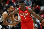 Zion Williamson lights up fourth quarter on NBA debut for Pelicans