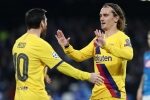 Napoli 1-1 Barcelona: Griezmann grabs vital away goal for Setien's side