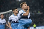 Serie A: Lazio stay on Juve's heels, Roma back winning amid coronavirus lockdown
