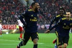 Olympiacos 0-1 Arsenal: Late Lacazette goal gives Gunners advantage