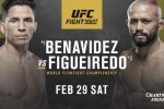 UFC Fight Night 169: Benavidez vs. Figueiredo fight card, date, time and where to watch