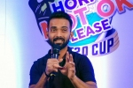 Ajinkya Rahane donates Rs 10 lakh to fight against coronavirus