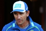 Australia coach Justin Langer backs cricket behind closed doors
