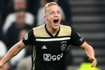 It's always nice to play in the sun – Van de Beek discusses Real Madrid links