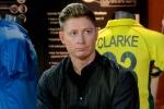 Clarke drops bombshell: Aussie cricketers