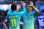 Neymar and Lautaro Martinez would be welcome at Barcelona - Suarez