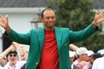 Coronavirus: Tiger Woods dons green jacket for Masters dinner 'quarantine style'