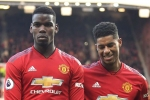 Pogba, Rashford feature in Manchester United's Old Trafford training game