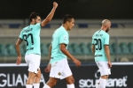 Hellas Verona 2-2 Inter: Veloso strikes late to deny Conte's side