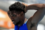 Lyles misses out on 200m world record after not running full distance