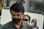 Sourav Ganguly quarantines himself at home after brother Snehashish tests positive for Covid 19