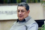 Shashank Manohar's exit a great relief for Indian cricket: N Srinivasan