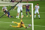 Champions League: Barcelona 3-1 Napoli 4-2 agg: Messi shines as Blaugrana set up Bayern clash