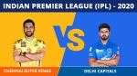 IPL 2020: CSK v DC Match 7 Updates: Chennai aim to come to winning ways, Delhi look to continue momentum
