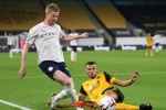 Wolves 1-3 Manchester City: De Bruyne drives opening win
