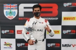 Kush Maini claims his second win of the year in British F3 Championship