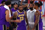 LeBron James leads Lakers to first NBA Finals since 2010