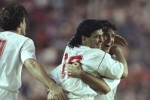 Sevilla v Bayern Munich: The match that began Maradona's ill-fated Spain return