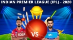 IPL 2020 Match 13: MI vs KXIP: Dream11 Fantasy tips, Playing XI, Head to Head, Live, India Timing