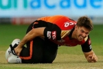 IPL 2020: RCB vs SRH: Sunrisers' suffer injury scare as Mitchell Marsh hurts his ankle while bowling