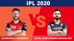 IPL 2020: RCB vs SRH, Match 3 Updates: Virat Kohli & Co. eyes winning start against David Warner's men