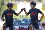 Tour de France: Ineos one-two as Kwiatkowski wins stage 18 and Carapaz takes Polka dot jersey