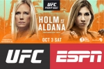 Holly Holm faces surging Irene Aldana on UFC Fight Island
