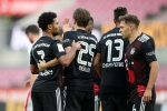 Cologne 1-2 Bayern Munich: Champions unspectacular but get by without Lewandowski