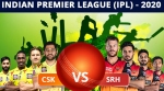 IPL 2020: Match 14: CSK vs SRH: Dream11 Fantasy tips, Head to Head, Playing XI, India timing, Live streaming
