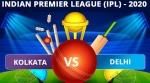 IPL 2020: KKR vs DC Dream11 Team Prediction, Tips, Best Playing 11 details