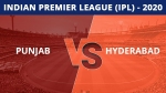 IPL 2020:  KXIP vs SRH, Match 43 updates: Kings XI Punjab, Sunrisers Hyderabad face off in must-win clash