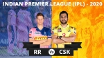 IPL 2020: CSK vs RR, Match 37, 1st innings: Clinical Rajasthan Royals restrict Chennai Super Kings to paltry 125/5