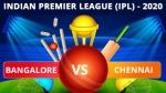 IPL 2020: RCB vs CSK, Match 44 Updates: In-form Bangalore face off colour Chennai