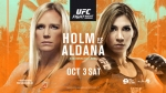 UFC Fight Island 4: Holm vs. Aldana fight card, date, start time and where to watch