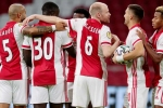 Ten Hag's Ajax equal Cruyff record in Eredivisie