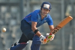 India vs Australia: Where's Pandya's replacement, asks Gambhir