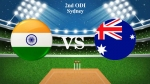 India vs Australia 2nd ODI Live Score: Kohli and co look to bounce back in Sydney