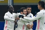 Inter 0-2 Real Madrid: Hazard and Rodrygo leave 10-man Nerazzurri on brink of exit